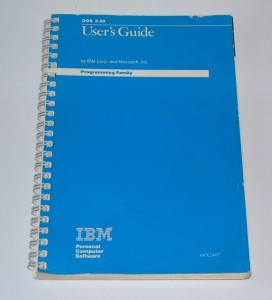 IBM DOS 3.2 Manual
