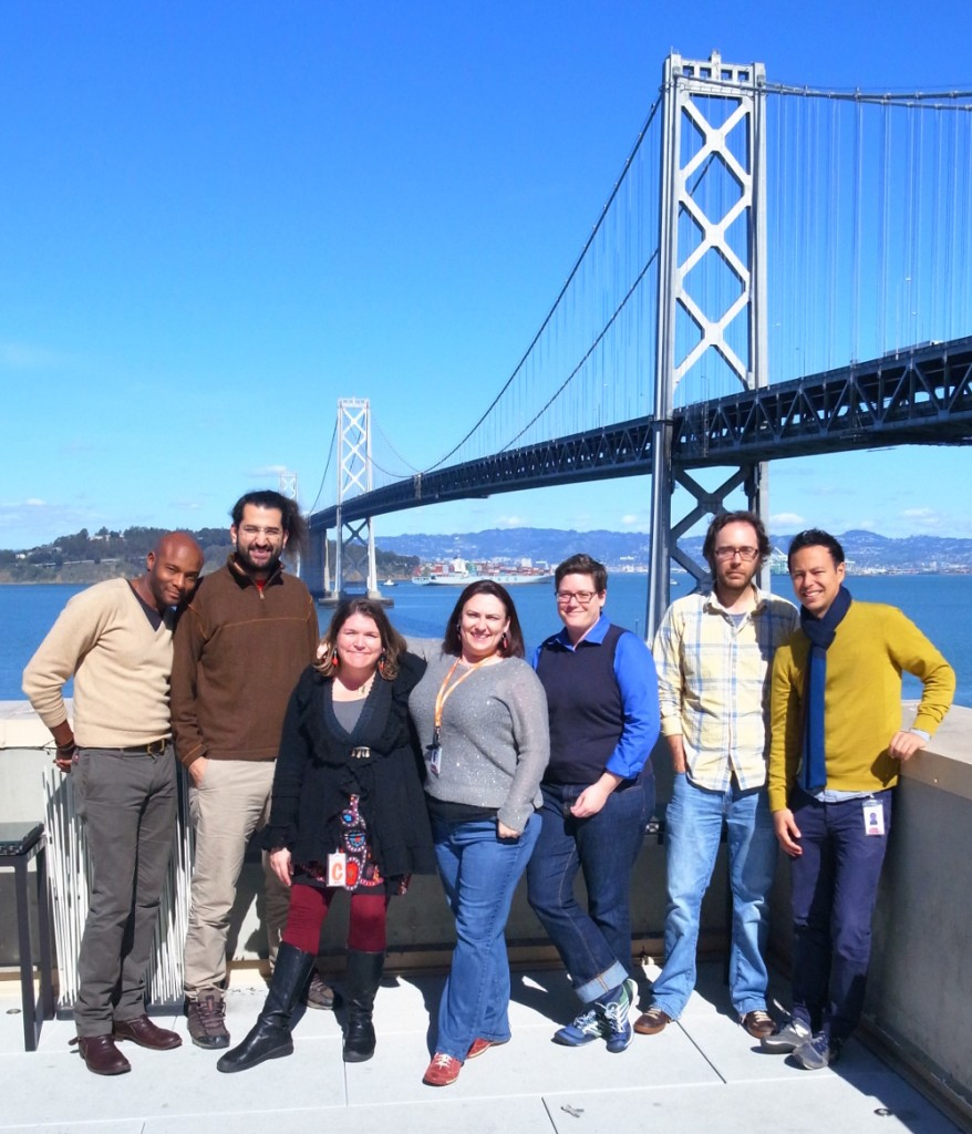 Community Building Team, March 2014 in SF
