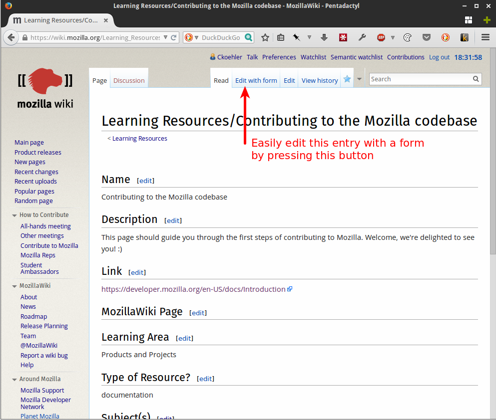 Learning Resources-Contributing to the Mozilla codebase - MozillaWiki