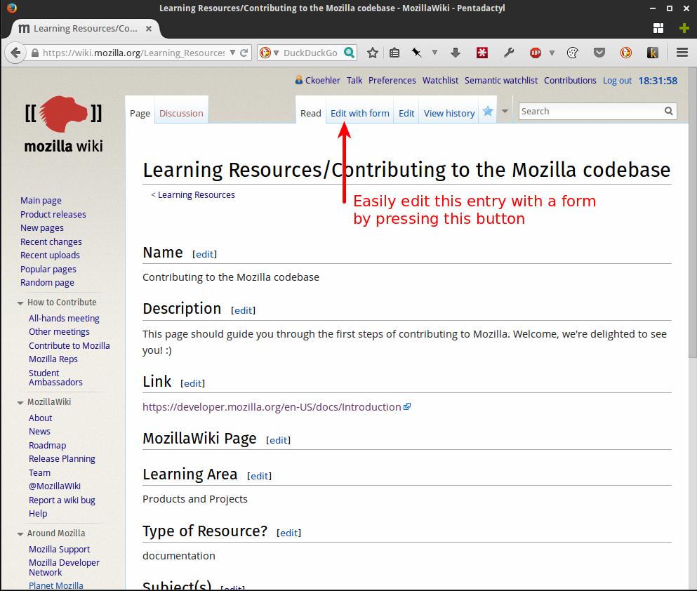 Learning Resources-Contributing to the Mozilla codebase - MozillaWiki