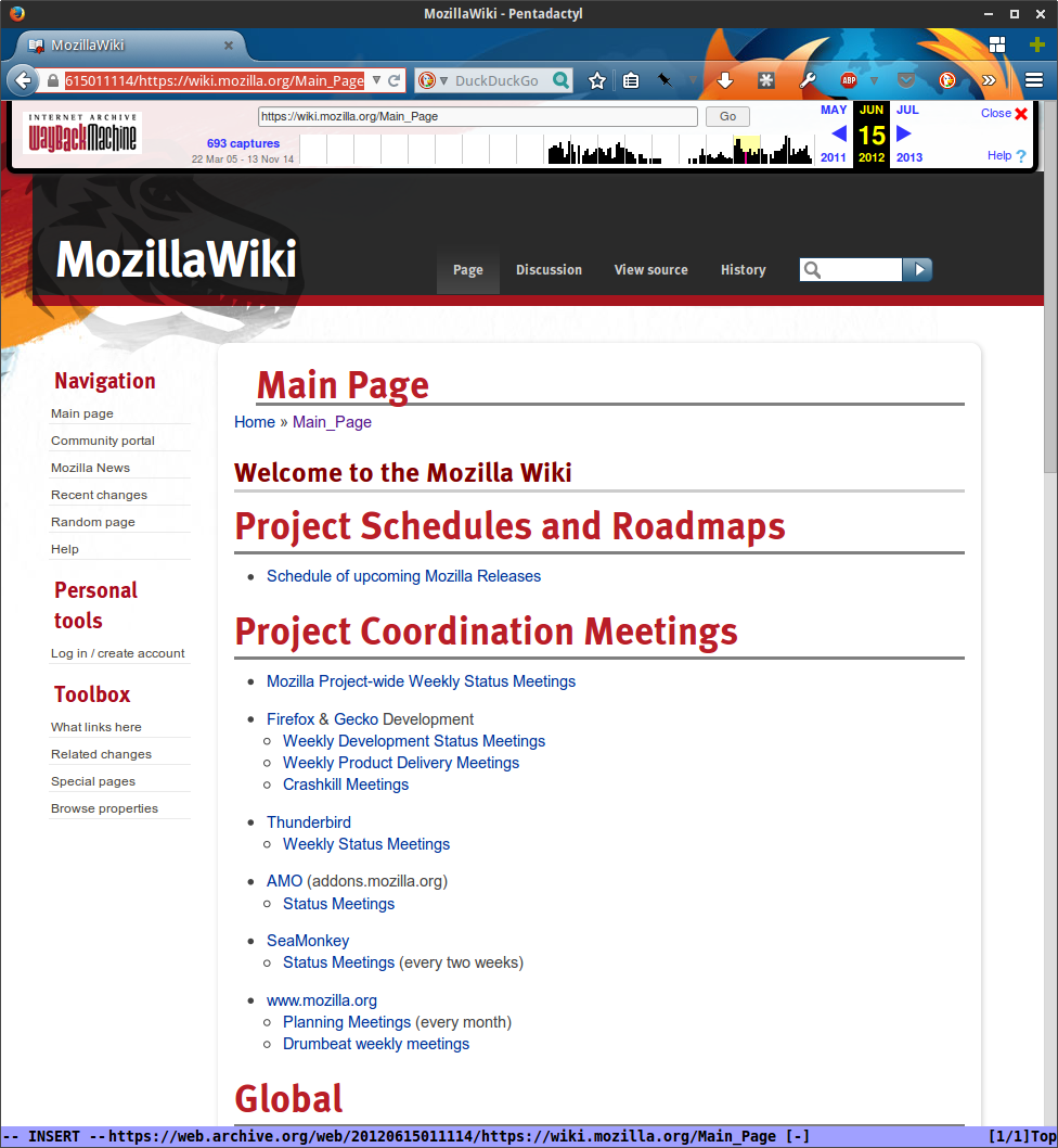 MozillaWiki July 2012