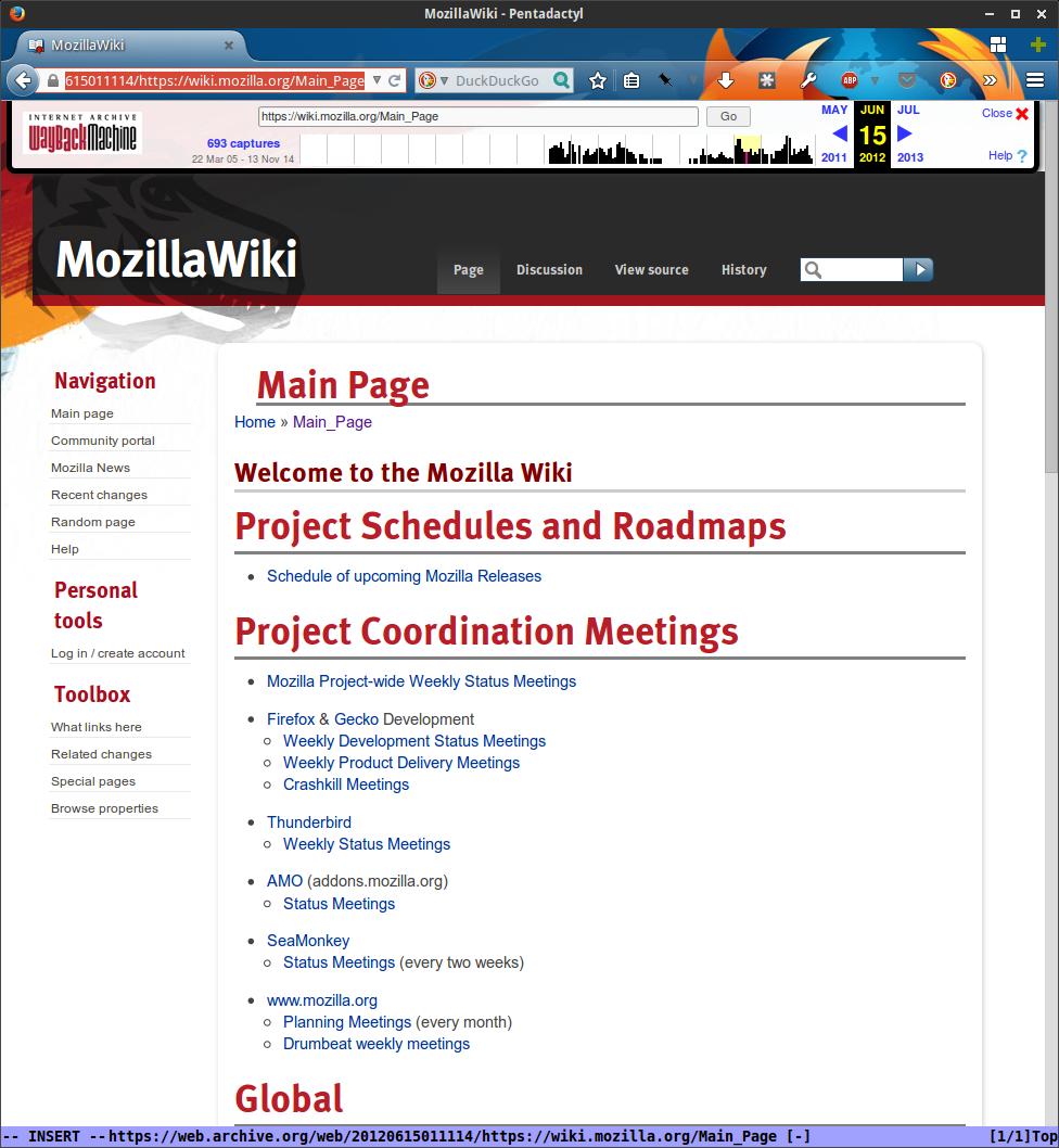 MozillaWiki July 2012