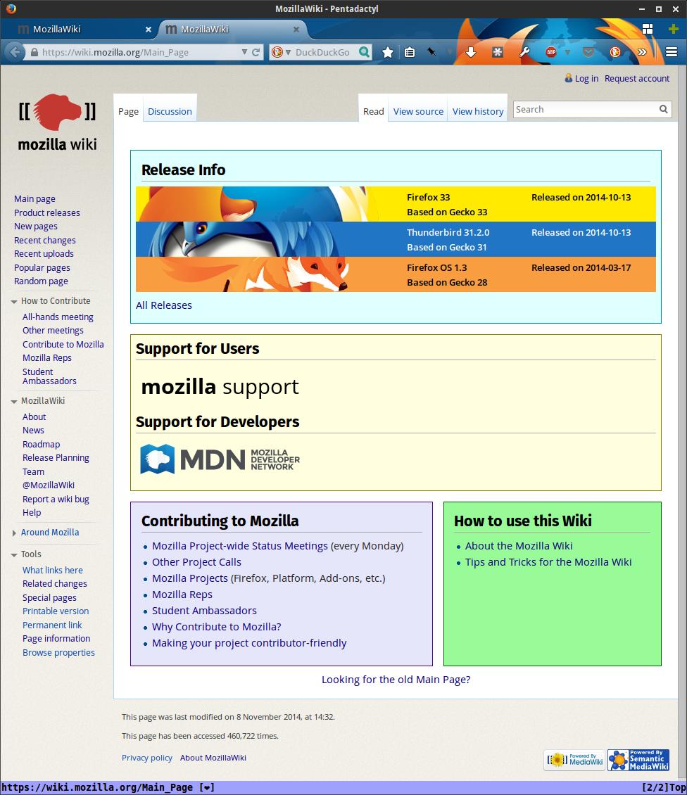 MozillaWiki November 2014