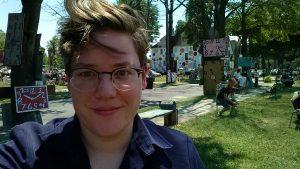 Me, at Project Heidelberg in Detroit, Mi
